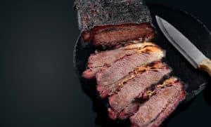 Kraftfutter: Rinder Brust vom Grill