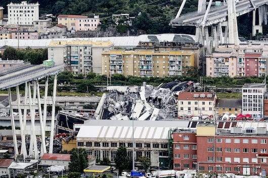 Italy Highway Collapse